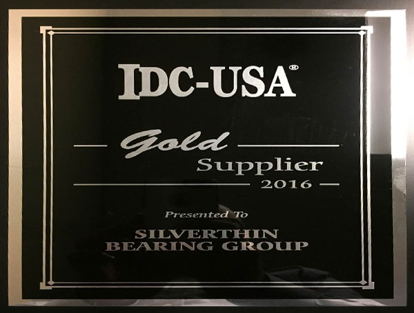 IDC Gold Supplier Plaque